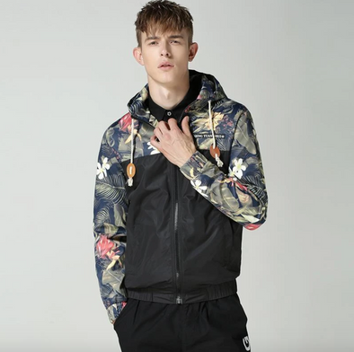 [EXCLUSIVE] URBAN FLORAL WINDBREAKER