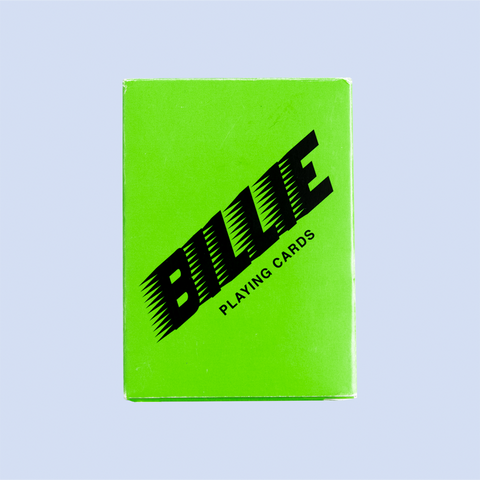 BILLIE PLAYING CARDS