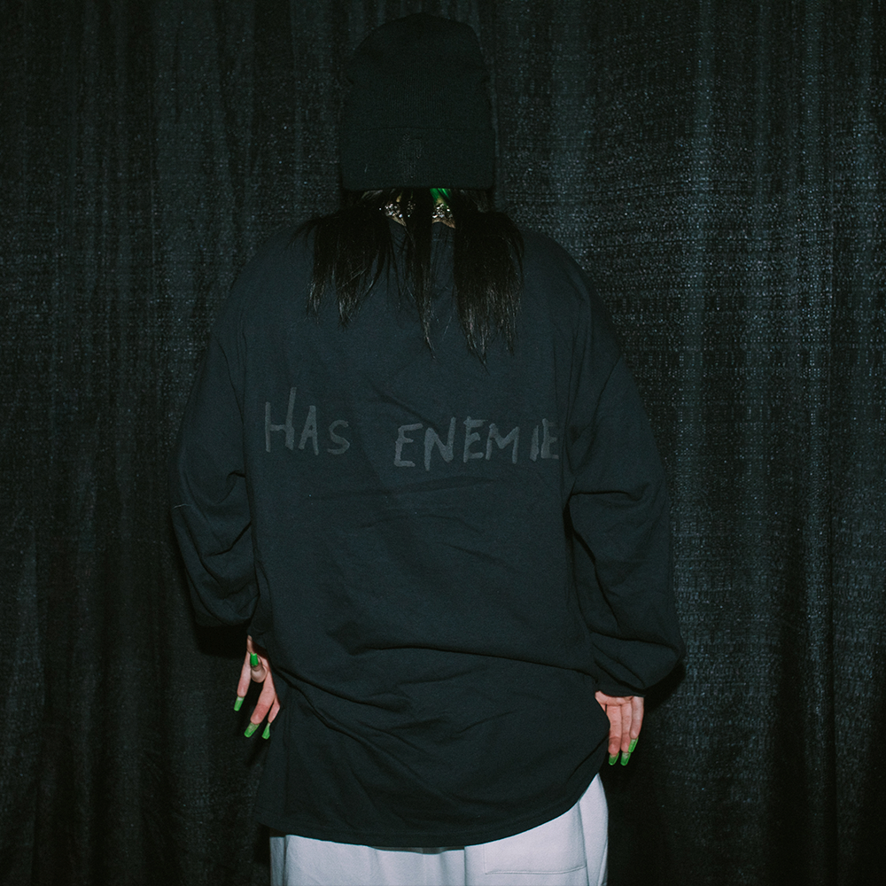 EVEN GOD HERSELF HAS ENEMIES LONG SLEEVE + DIGITAL ALBUM