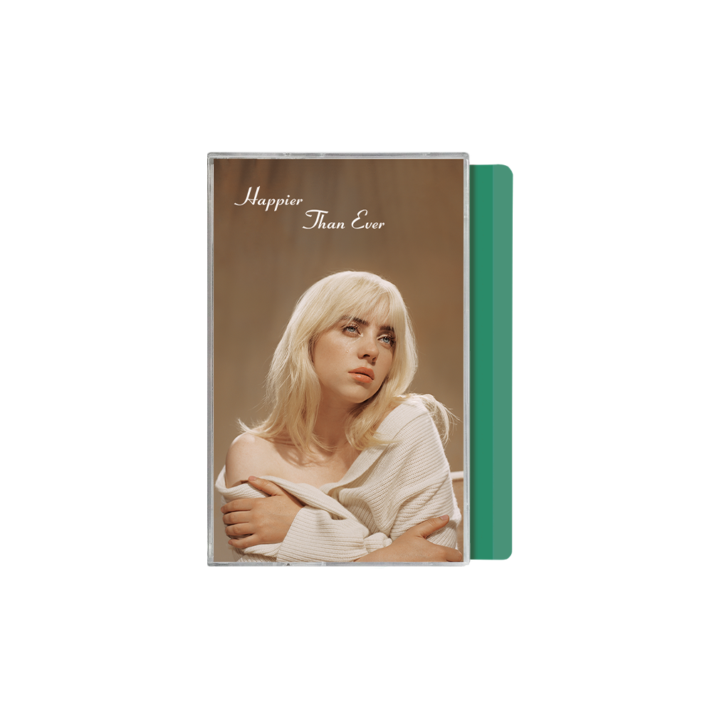 'Happier Than Ever' Exclusive Mint Green Cassette