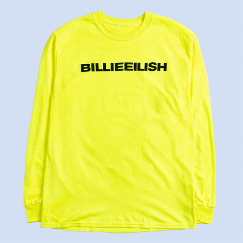 """dont smile at me"" YELLOW LONG SLEEVE"