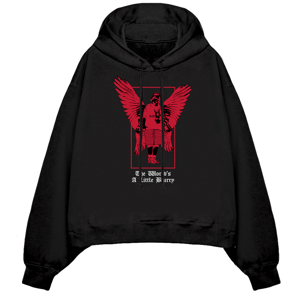 Billie's Angel Hooded Sweatshirt