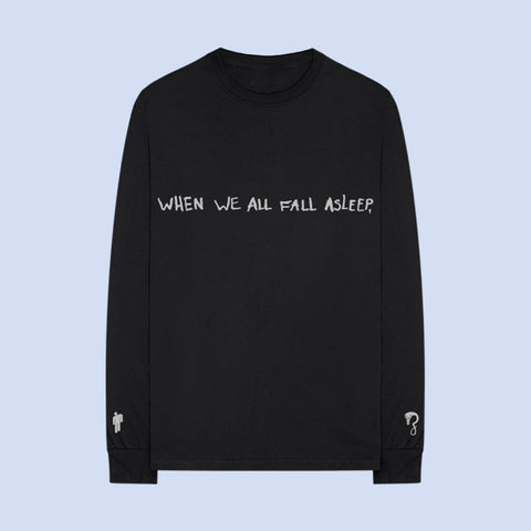 ASLEEP BLACK LONG SLEEVE + DIGITAL ALBUM