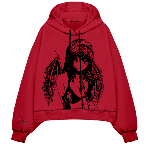 Princess Blurry Hooded Sweatshirt