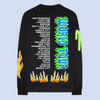 black flames tour date long sleeve