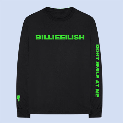 """dont smile at me"" BLACK LONG SLEEVE + DIGITAL ALBUM"