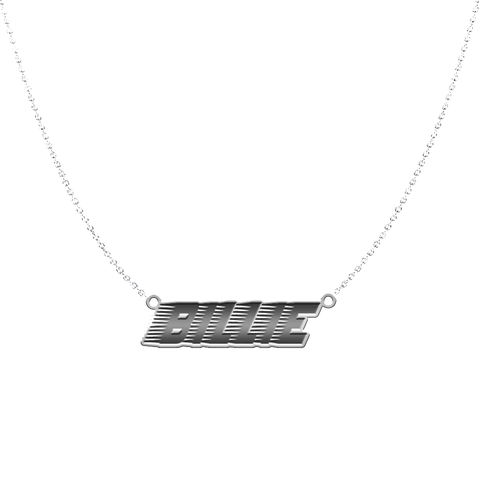Racer Logo Necklace