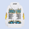 white flames world tour hoodie