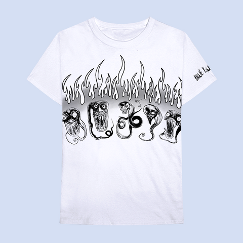 ghouls in flames tee