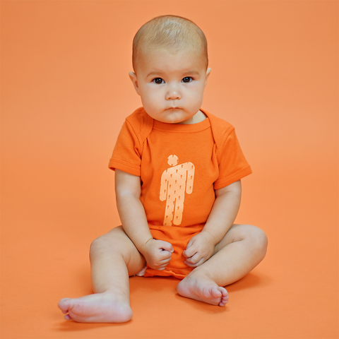 """BLOHSH ONESIE"" ORANGE"