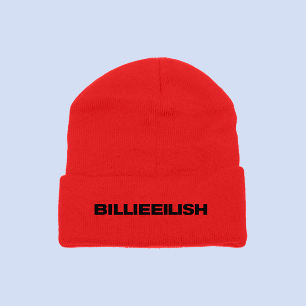RED BLOHSH BEANIE + DIGITAL ALBUM