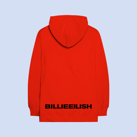 RED BILLIE HOODIE + DIGITAL ALBUM
