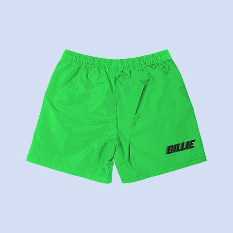 BILLIE GREEN SLIME SWEATSHORTS