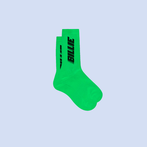 KIDS GREEN SLIME SOCKS