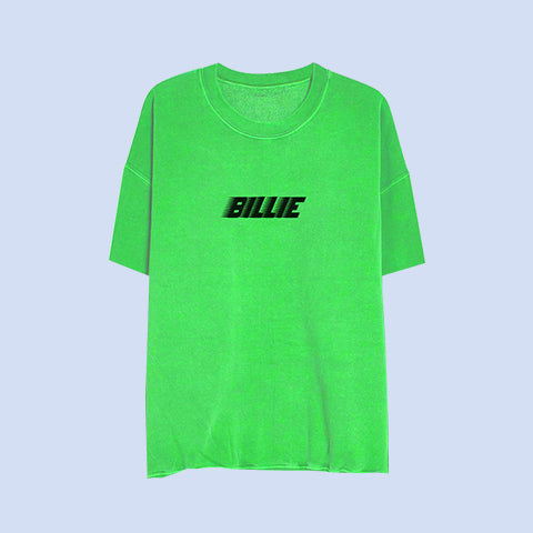 Billie Green Slime Sweatshirt Tee + Digital Album