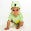 """BLOHSH BEANIE TODDLER"" GREEN"
