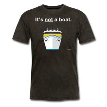"Load image into Gallery viewer, ""It's Not a Boat"" (Cruise Ship Style) - Men's T-Shirt-CruiseHabit"