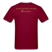 Load image into Gallery viewer, I Love Talking Ship - Men's T-Shirt - burgundy