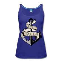 Load image into Gallery viewer, Ship Faced - Women's Tank Cruise Shirt - royal blue