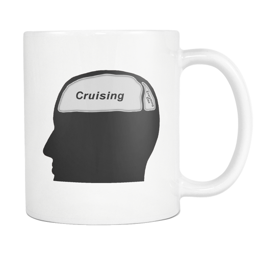 Cruising on the Brain Coffee Mug-CruiseHabit