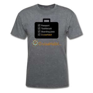 Cruise Checklist Shirt (Men's) - mineral charcoal gray