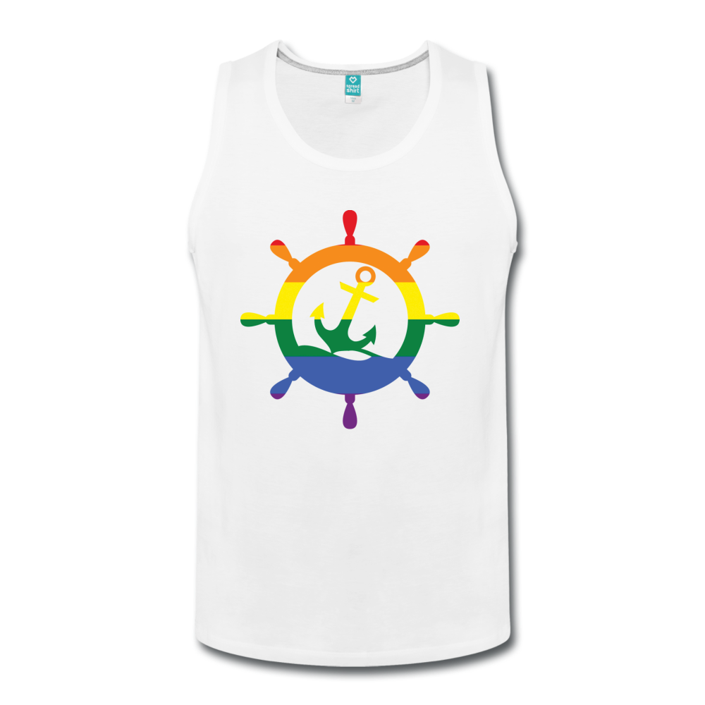 CruiseHabit LGBTQ+ Pride & Equality Shirt - Net Proceeds Go to Charity - Men's Tank-CruiseHabit