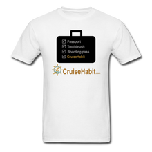 Load image into Gallery viewer, Cruise Checklist Shirt (Men's) - white