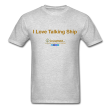 Load image into Gallery viewer, I Love Talking Ship - Men's T-Shirt - heather gray