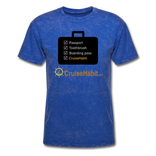 Load image into Gallery viewer, Cruise Checklist Shirt (Men's) - mineral royal
