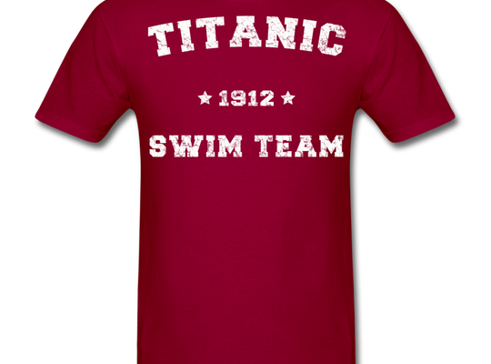 Titanic Swim Team - Men's T-Shirt-CruiseHabit