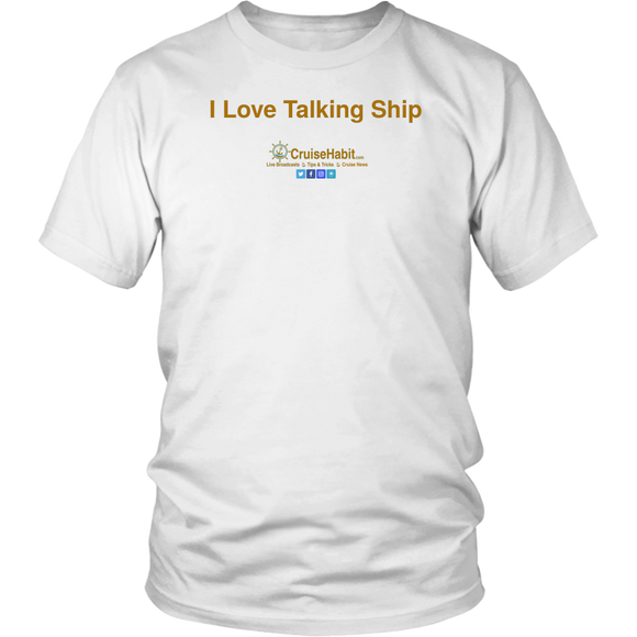 I Love Talking Ship - CruiseHabit Shirt in Various Styles-CruiseHabit