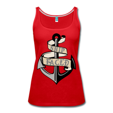 Load image into Gallery viewer, Ship Faced - Women's Tank Cruise Shirt - red