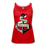 Ship Faced - Women's Tank Cruise Shirt - red
