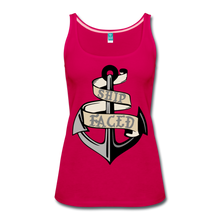 Load image into Gallery viewer, Ship Faced - Women's Tank Cruise Shirt - dark pink