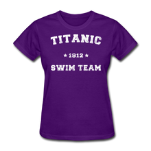 Load image into Gallery viewer, Titanic Swim Team - Women's T-Shirt-CruiseHabit