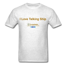 Load image into Gallery viewer, I Love Talking Ship - Men's T-Shirt - light heather grey