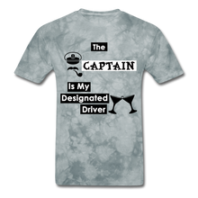 "Load image into Gallery viewer, ""The Captain Is My Designated Driver"" - Men's T-Shirt-CruiseHabit"