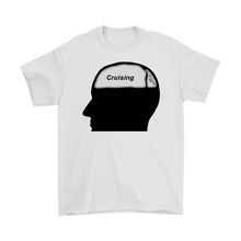 Load image into Gallery viewer, Cruising on the Brain T-Shirt (Men's)-CruiseHabit
