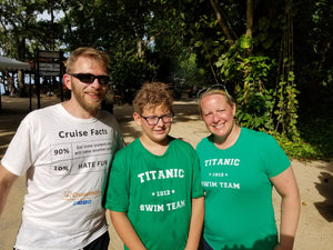 Titanic Swim Team - Women's T-Shirt