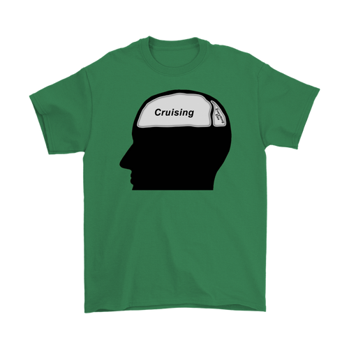 Cruising on the Brain T-Shirt (Men's)-CruiseHabit