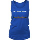 It's Not a Boat Tee (Ocean Liner Design, Various Styles) - CruisieHabit Cruise Accessories & Gear