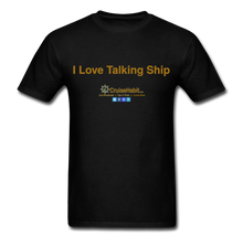 Load image into Gallery viewer, I Love Talking Ship - Men's T-Shirt - black
