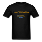 I Love Talking Ship - Men's T-Shirt - black