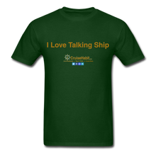Load image into Gallery viewer, I Love Talking Ship - Men's T-Shirt - forest green