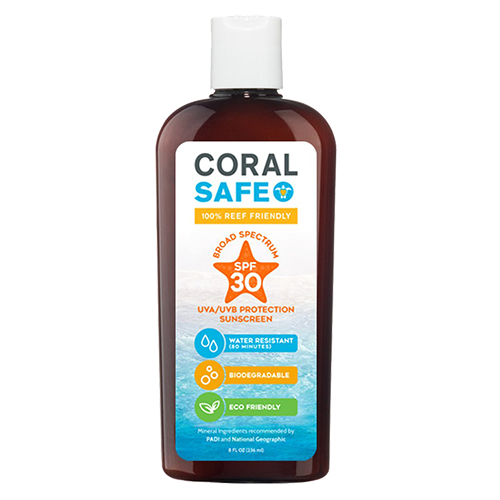Coral Safe SPF 30 Biodegradable Sunscreen-CruiseHabit