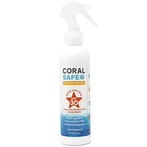 Coral Safe SPF 30 Biodegradable Spray Sunscreen Lotion-CruiseHabit