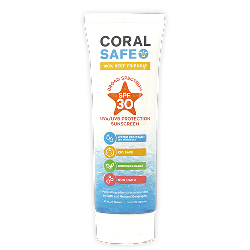 Coral Safe SPF 30 Travel Size Biodegradable Sunscreen Lotion