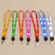 Load image into Gallery viewer, Light-Up LED Cruise Key Neck Lanyards-CruiseHabit