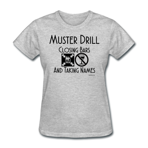 Muster Drill Cruise Shirt - Women's T-Shirt-CruiseHabit