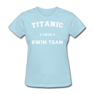Titanic Swim Team - Women's T-Shirt-CruiseHabit